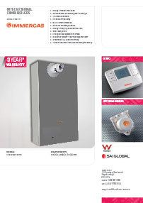 Immergas Intec External Combi Boiler