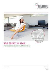 Rehau Underfloor Heating Sales Brochure 2