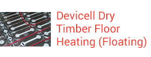 Sunray Devicell Dry Timber Floating Floor Heating