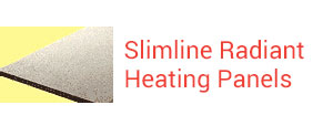 Sunray Slimline Radiant Panels Heating