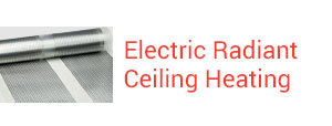 Electric Radiant Ceiling Heatign